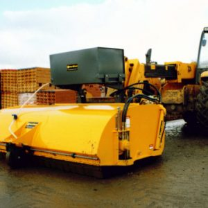 Road Sweeper c/w Water Suppression