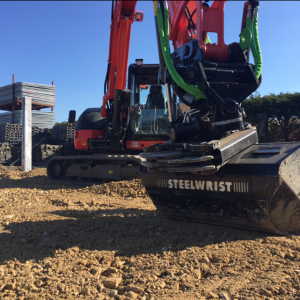 Steelwrist Tiltrotator ( Operated Hire Only)